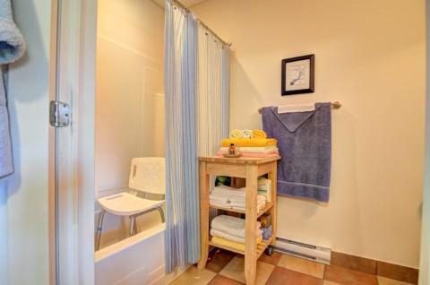 Salle de bain chambre 2 et demi