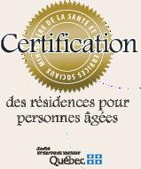 Certification des résidences pour personnes agées